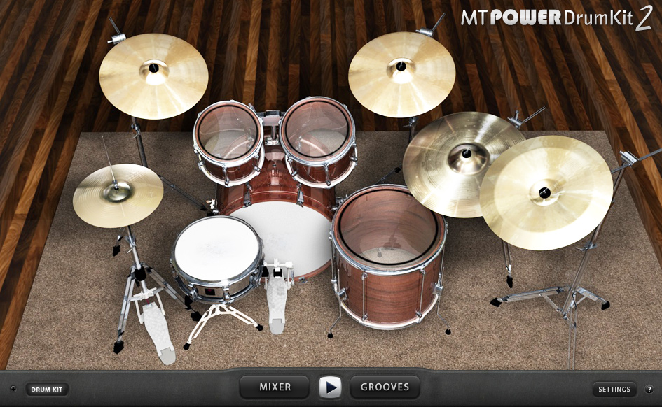 Mt Powerdrumkit Au Vst Drums Sampler Plugin Instrument